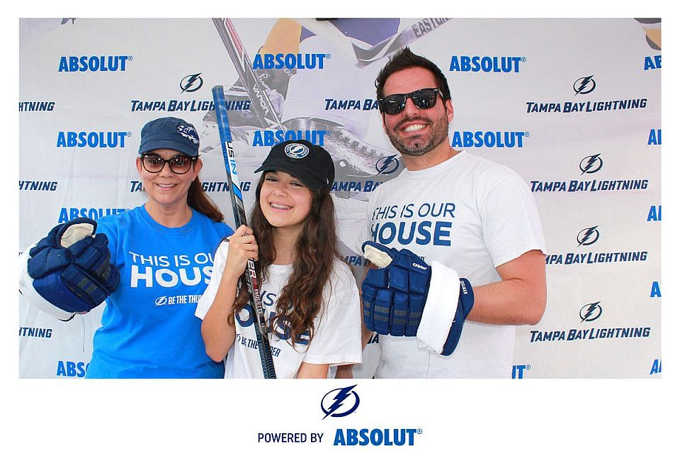 EVENT PHOTOS: Absolut Vodka with Tampa Bay Lightning Jan. 31st