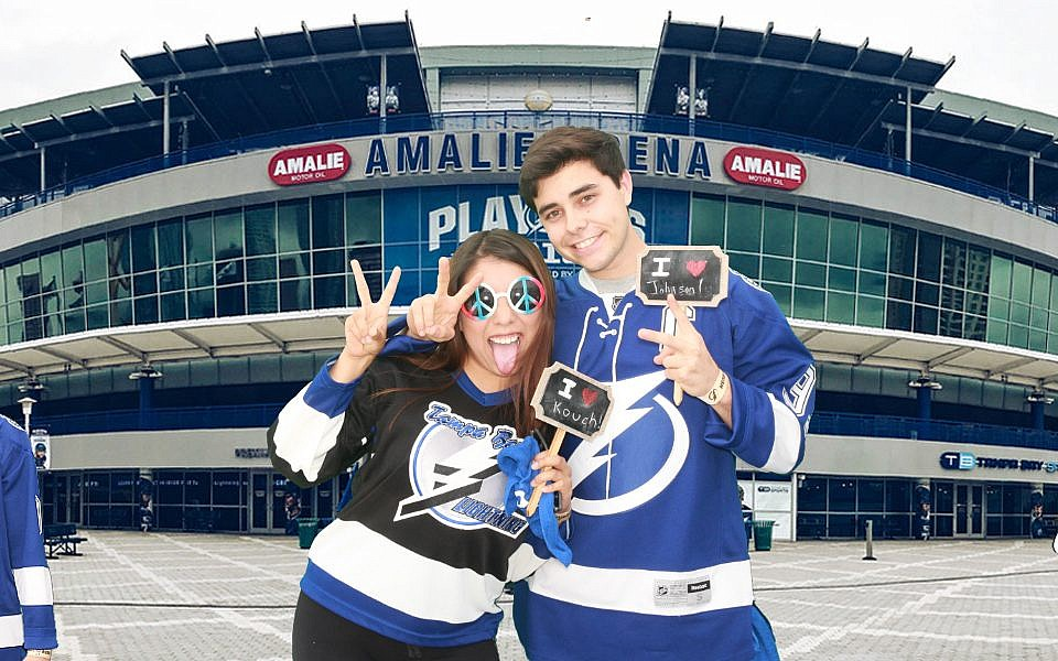 Tampa Bay Lightning Playoffs 2018 Games 1 and 2